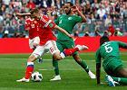 Mistrzostwa świata w piłce nożnej. Mecz Rosja - Arabia Saudyjska. Zwycięstwo gospodarzy na otwarcie turnieju