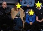 Jack Nicholson z córką Lorraine oraz Chris Martin z córką Apple