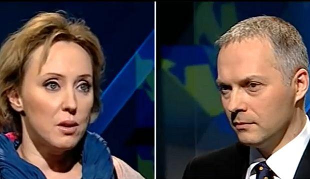 Katarzyna Bratkowska i Jacek Żalek