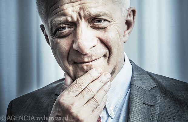 Były premier RP,ekonomista Marek Belka