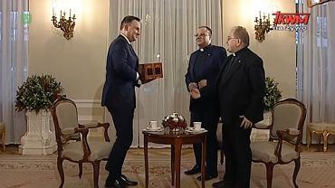Rozmowa prezydenta Andrzeja Dudy w TV Trwam