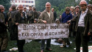 Strajk górników z Donieckiego Zagłębia Węglowego, Donieck, 20 lipca 1989 r.
