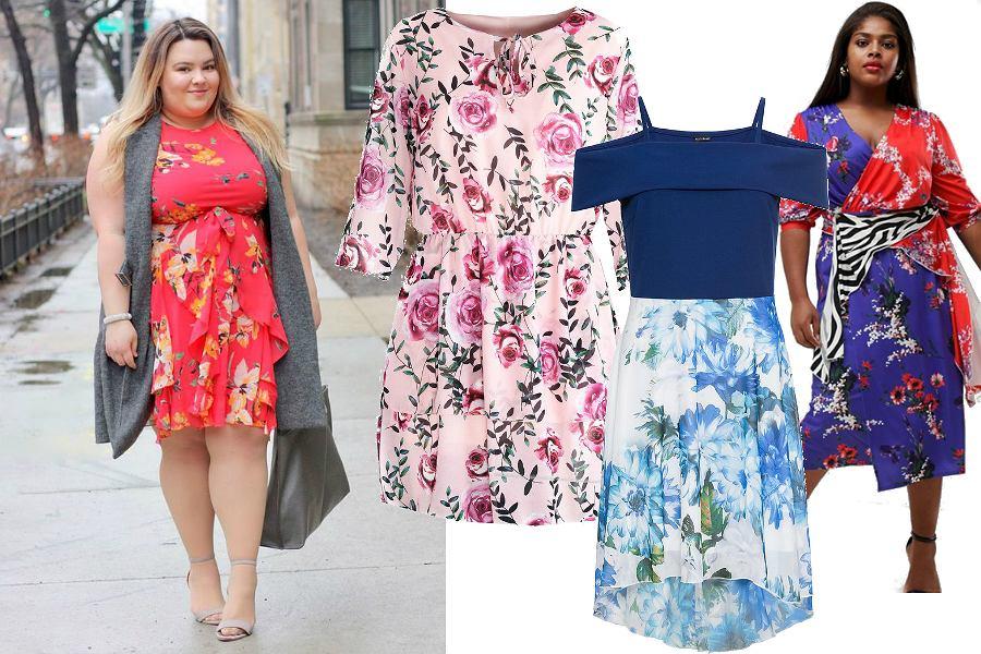 Kolorowe sukienki w kwiaty