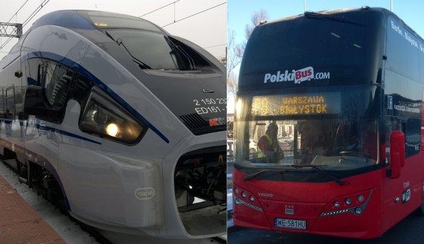 Dart PKP Intercity vs. Polski Bus: co wybra� na podr� do Bia�egostoku [NASZ TEST]