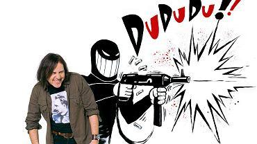 Ryszard Dąbrowski, autor komiksów, m.in. 'Likwidator kontra Kaczystan', 'Likwidator kontra dobra zmiana',