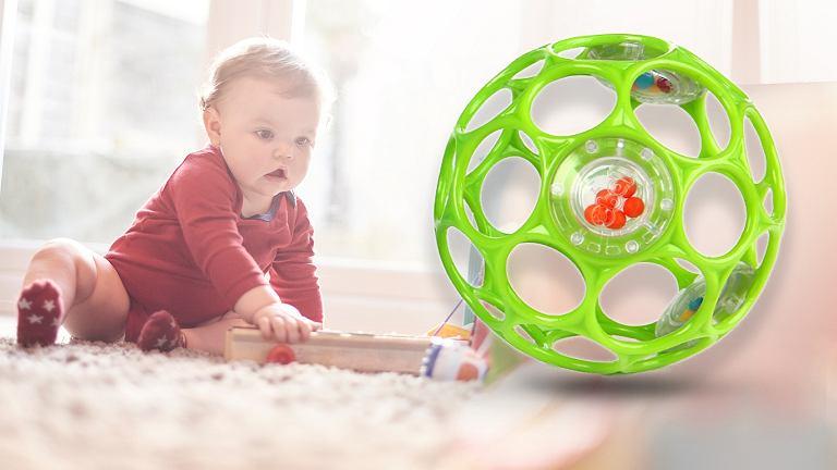Grzechotka Kids II Oball stanowi zagrożenie dla zdrowia i życia dzieci.