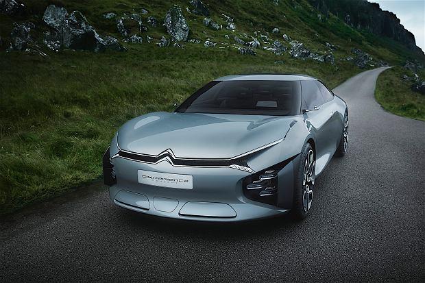 Salon Pary� 2016   Citroen Cxperience Concept   Limuzyna przysz�o�ci