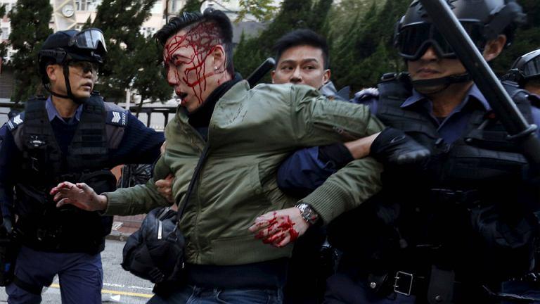 Zamieszki w Hong-Kongu, luty 2016