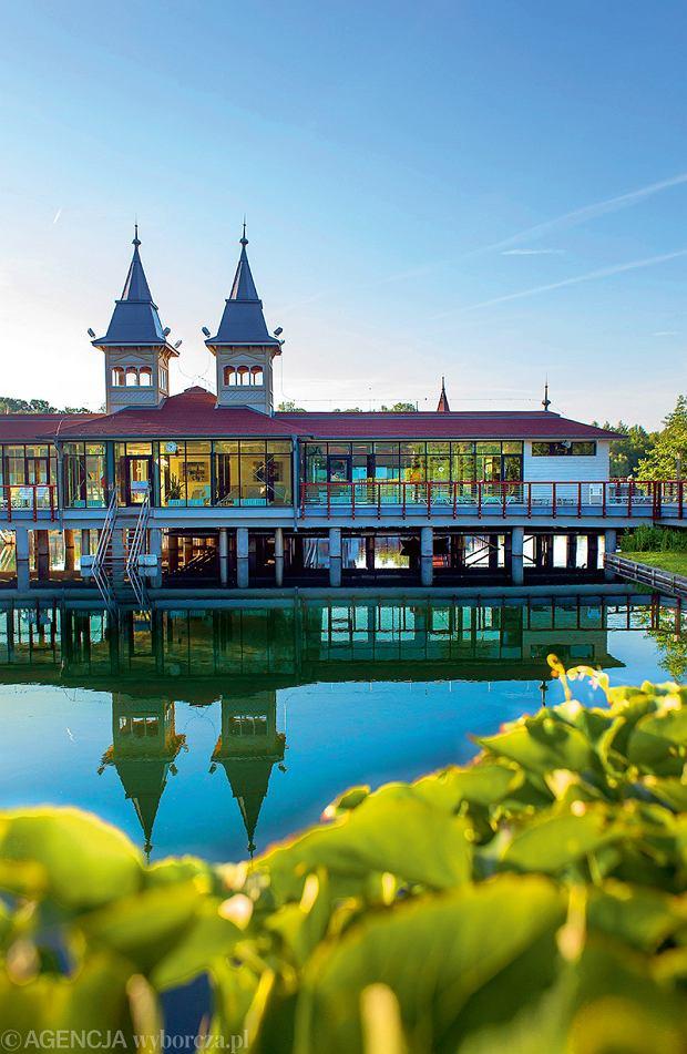 Węgry, Heviz. Jezioro termalne .