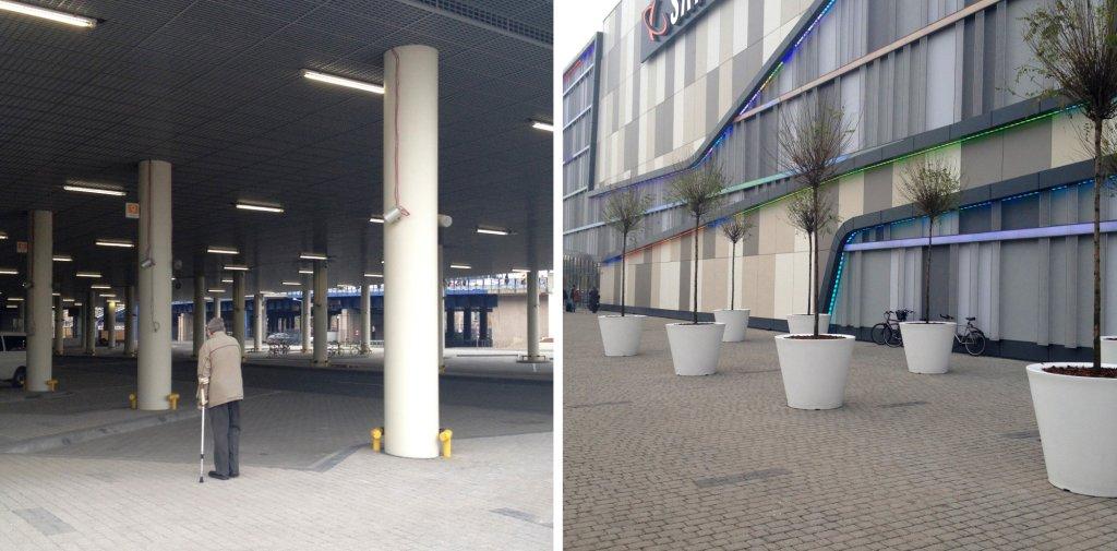 Przy budowie dworca w Poznaniu kierowano się wyłącznie chęcią zysku (fot. Filip Springer)