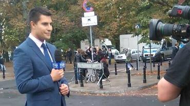 """Pods�uchali�my, jak reporter """"Wiadomo�ci"""" podsumowa� dzi� protest. Zaskoczeni?"""