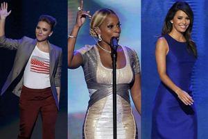 Scarlett Johansson, Mary J. Blige, Eva Longoria.