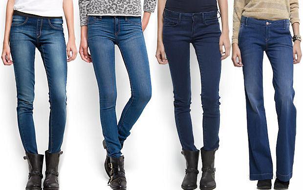 Jak dopasowa� jeansy do figury