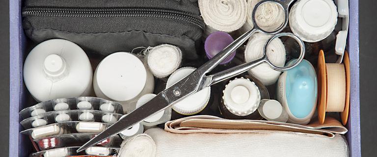 Apteczka domowa - co powinno się w niej znaleźć?