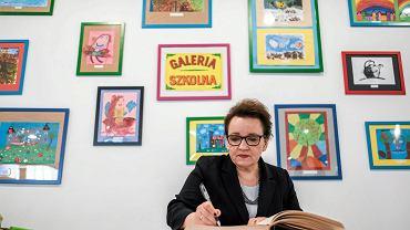 Na zdjęciu: minister edukacji narodowej Anna Zalewska