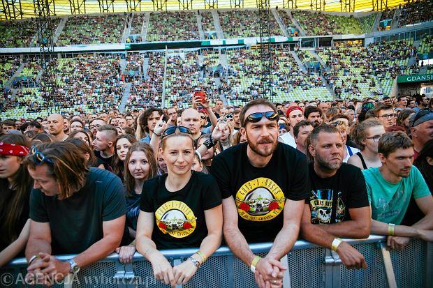 Koncert Guns N' Roses w Gdańsku. Trzygodzinna wycieczka do Paradise City