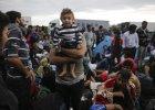 Imigranci przy granicy w S�owenii