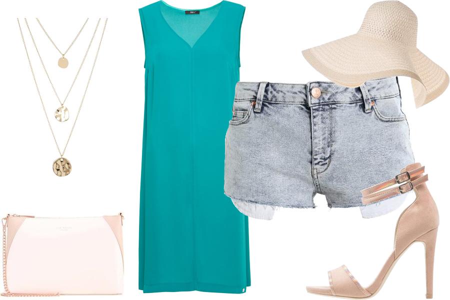 Stylizacja jak się ubrać, żeby wyglądać szczuplej / Kolaż / Materiały partnera