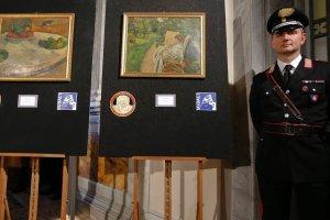 Skradzione dzie�a sztuki 40 lat wisia�y w kuchni. Odzyskano obrazy Gauguina i Bonnarda