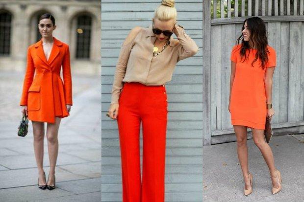 Pomarańczowe ubrania i dodatki - must have na ten sezon