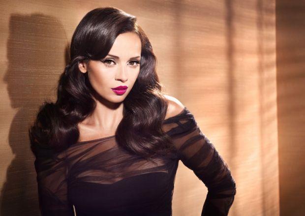 Anna Przybylska reklamuje kosmetyki Astor