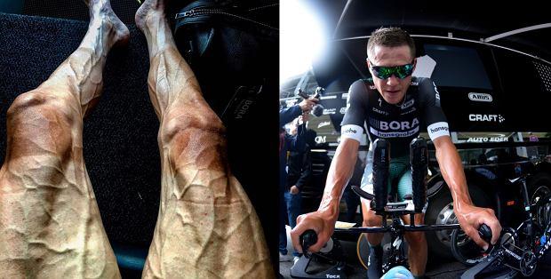 Tour de France. Polski kolarz pokazuje nogi
