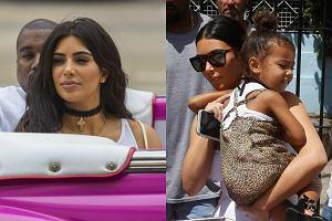 Kim Kardashian i jej siostry to kolejne gwiazdy, kt�re wykorzysta�y ocieplenie relacji ameryka�sko-kuba�skich i wybra�y si� do Hawany. W stolicy karaibskiej wyspy celebrytka pr�bowa�a zwr�ci� na siebie uwag� sprawdzonymi sposobami - seksownym strojem i robieniem wydarzenia z ka�dego swojego ruchu. Niestety, ku rozczarowaniu Kardashian, zdecydowanie wi�kszym powodzeniem u fotograf�w cieszy�a si�... jej 3-letnia c�rka North. Zobaczcie, jak Kim i jej rodzina bawili si� w Hawanie!