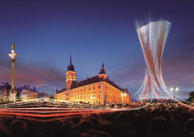 Liga Europy także na Krakowskim Przedmieściu