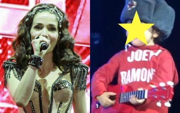 """Natalia Oreiro znana z telenoweli """"Zbuntowany anioł"""" jest właśnie w trasie koncertowej. 14 grudnia zagrała we Wrocławiu, a 10 grudnia w Moskwie, gdzie ku uciesze fanów, pokazała swojego synka Merlina."""