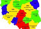Polska mapa wypadków | Raport