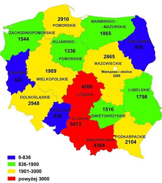 Polska Mapa Wypadk 243 W Raport