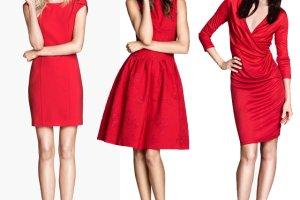Najpi�kniejsze czerwone sukienki