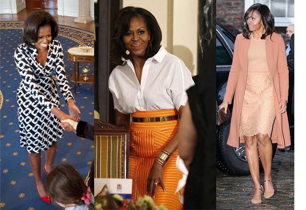 Najlepsze stylizacje Michelle Obama