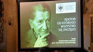 Uroczysta sesja poświęcona pamięci prof. Stanisława Kulczyńskiego w Oratorium Marianum UWr