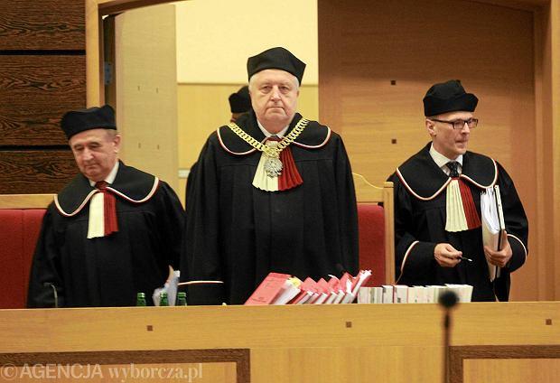 Przewodnicz�cy Trybuna�u Konstytucyjnego Andrzej Rzepli�ski