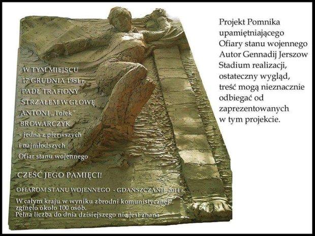 Pomnik ofiar stanu wojennego