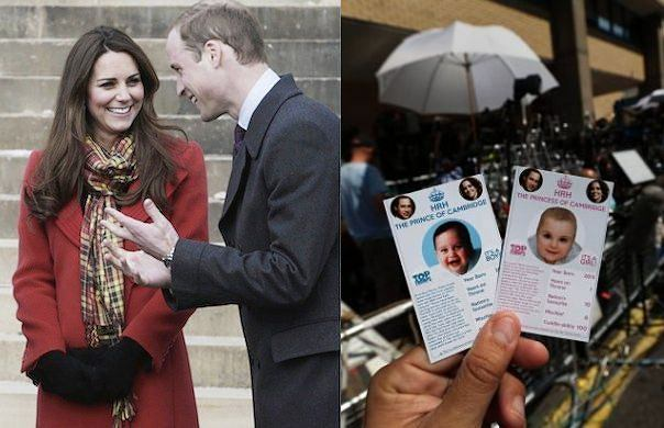 """Jak b�dzie mia�o na imi� """"royal baby""""? Najcz�ciej obstawiane imiona to Aleksandra i Jerzy"""