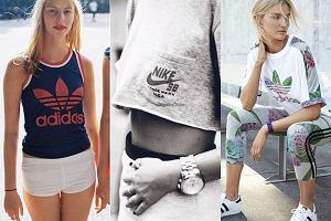 Sportowe retro koszulki w trzech ods�onach
