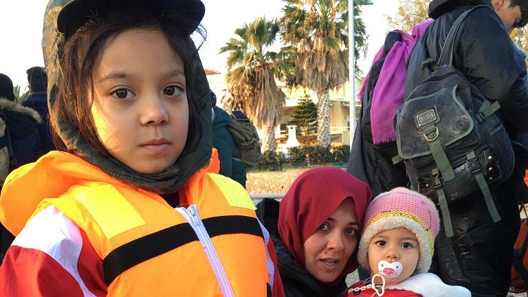 Syryjscy uchodźcy na wyspie Lesbos (fot. materiały prasowe)