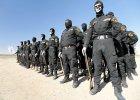 Sunnicy bojownicy z Haszid Szaabi s� formacj�, kt�ra w chodzi w sk�ad policji irackiej