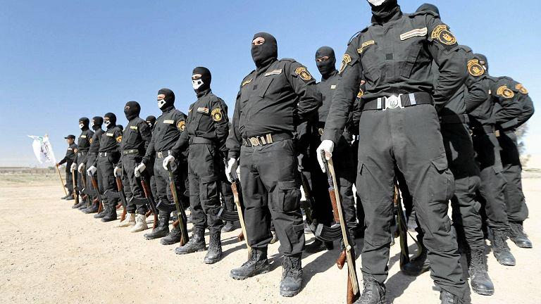 Sunnicy bojownicy z Haszid Szaabi są formacją, która w chodzi w skład policji irackiej