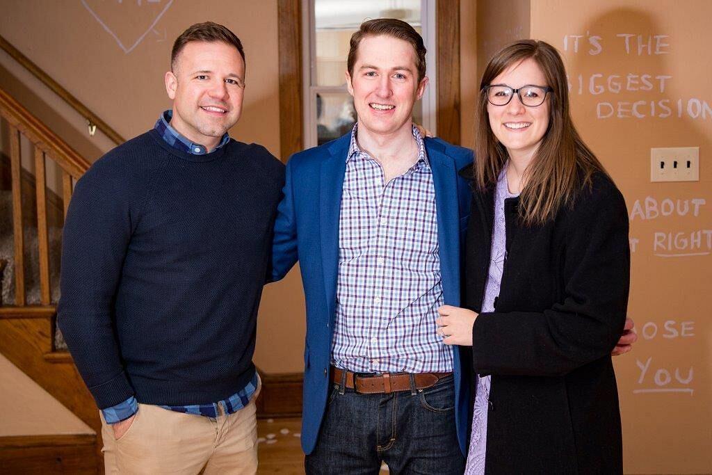Randy Lee, Kevin Murray oraz Kimberly Gendron