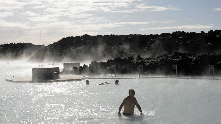 Błękitna Laguna, Islandia