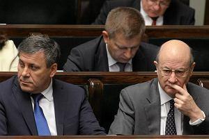 Sejm b�dzie kontynuowa� prace nad zawieszeniem prog�w ostro�no�ciowych