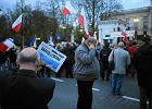 "Demonstranci pod ambasad� Rosji. ""To by� zamach"""