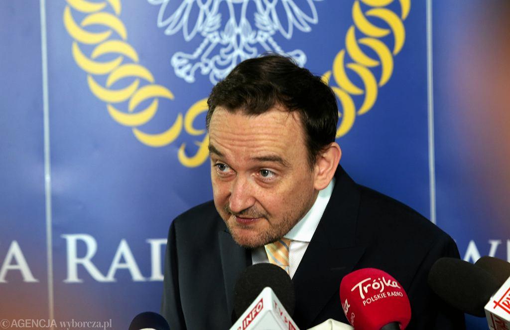 Sędzia Krajowej Rady Sadownictwa Maciej Mitera