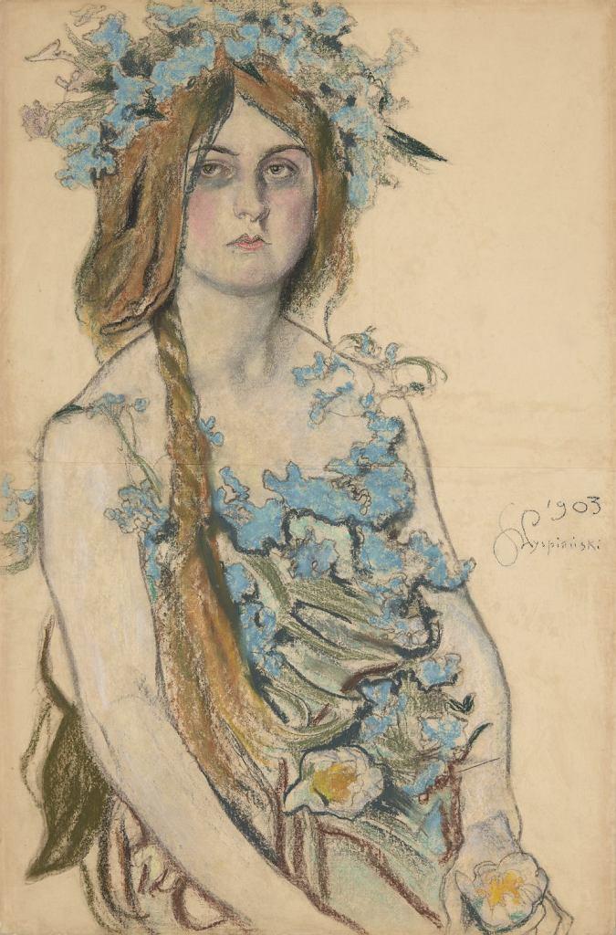 Stanisław Wyspiański, 'Krasawica', pastel, 1903 r. / Pracownia fot. MNK