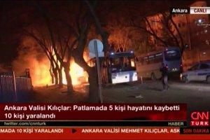 Turcja: silna eksplozja w koszarach w centrum Ankary