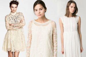 Suknie �lubne z sieci�wek do 1000 z�