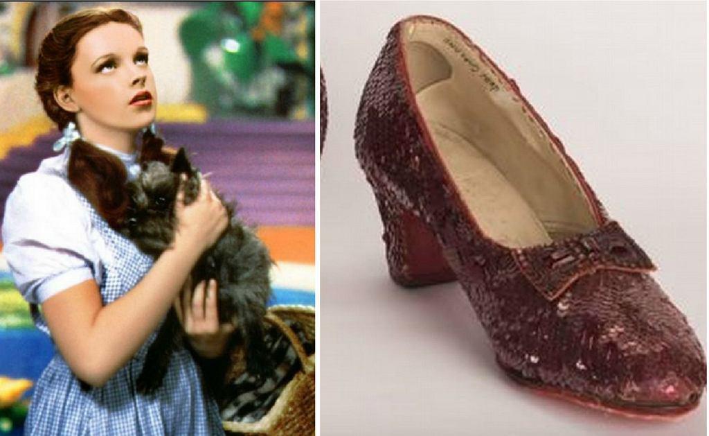 Pantofelki Judy Garland